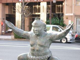 Statue Sumo